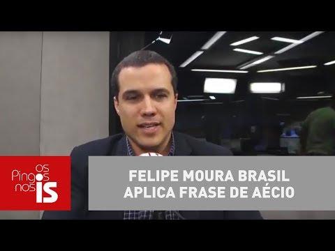 Felipe Moura Brasil Aplica Frase De Aécio Contra O Próprio Tucano