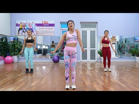 High Intensity Workout to Lose Weight Quickly - Aerobic Dance Workout at Home Everyday   Eva Fitness