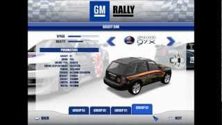 GM Rally All Cars