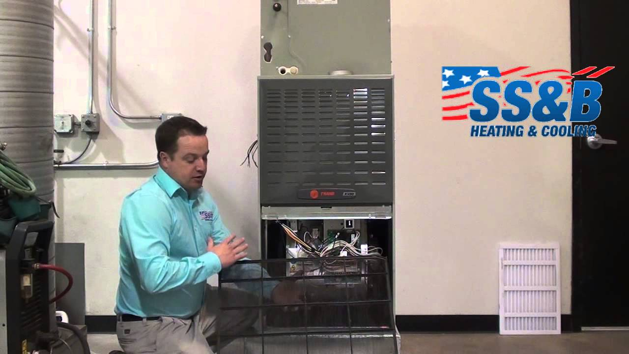 How to replace your filter on a upflow furnace installed ...