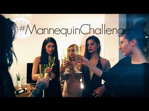 MANNEQUIN CHALLENGE ~ Polish girls before champagne party ~