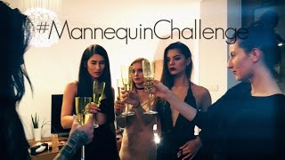 polish girls before champagne party mannequin challenge