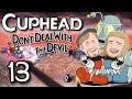 Doktor Wily! | Cuphead på svenska Multiplayer Del 13 | Med Danne och Pattan (Mustachtic)