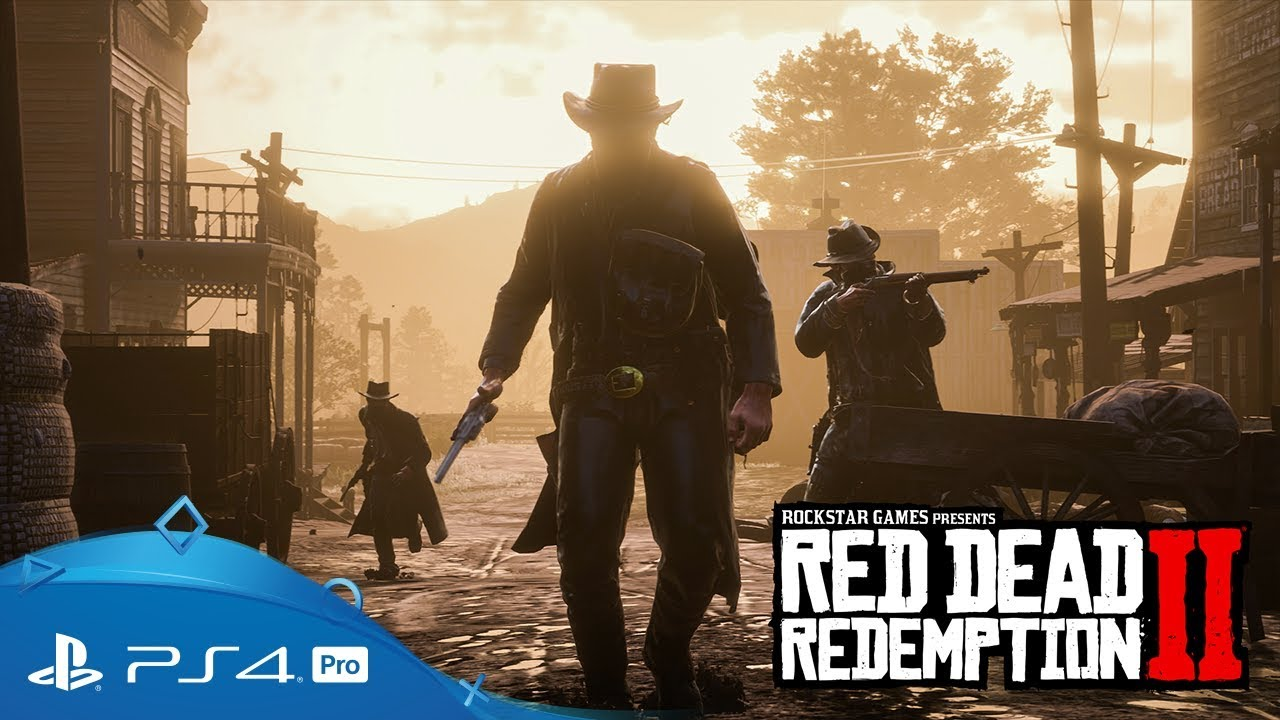 Red Dead Redemption 2   Official Gameplay Video   PS4 - YouTube