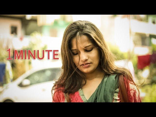 One Minute by sriram - Latest Telugu Short Film 2019 || SkyLight Movies