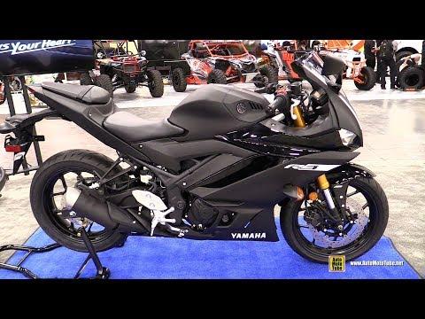 download 2019 Yamaha R3 - Walkaround - Debut at 2018 AIMExpo Las Vegas