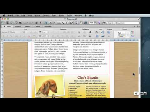 Word For Mac 101: Creating And Formatting Letters - 11. Navigation InsideBetween Documents