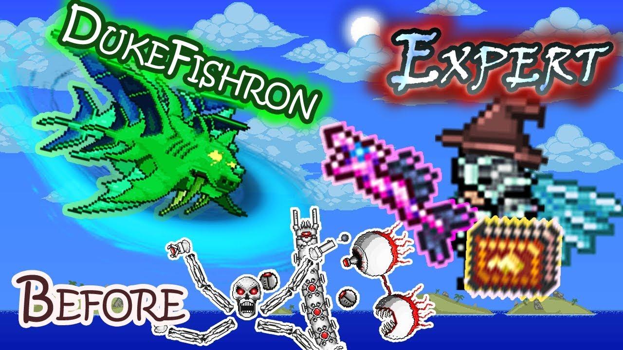 sprzedaż online najlepiej kochany kup najlepiej Duke Fishron Before Mechanical Boss - Terraria Expert Magic Only