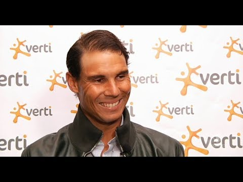 Rafael Nadal Interview for Italian TV in Rome, 14 May 2018
