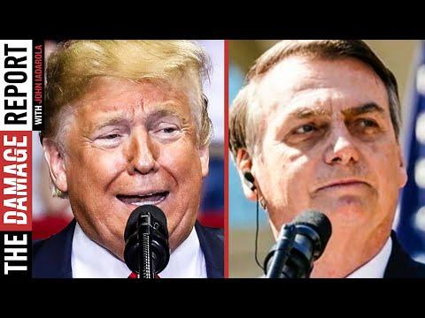 Trump Speaking vs Other World Leaders