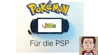 Pokemon für die PSP [GBA Emulator][PSP Flash]