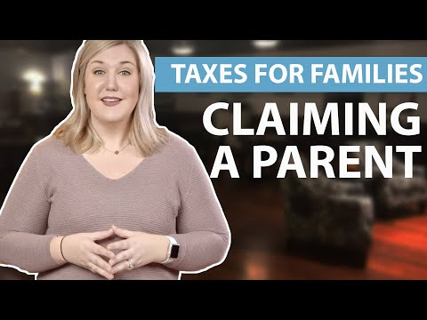 Claiming A Parent   Taxes For Families   1040.com Tax Guide