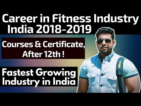 Fitness Career in India | After 12th | Courses, Certification & Degree | Hindi