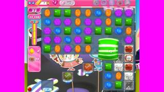 Candy Crush Saga Level 1879 passed without boosters or extra moves