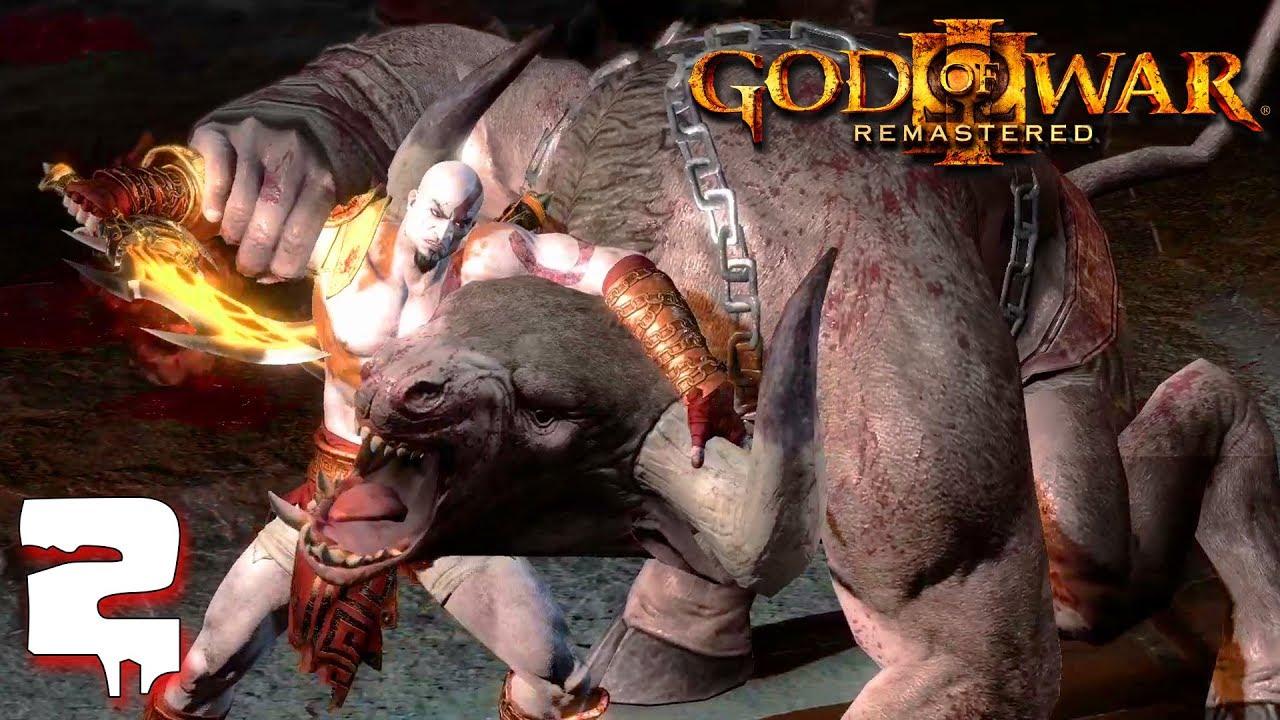 កំទេចបិសាចក្របី - God of War III Remaster Ep2 Khmer
