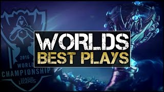 Worlds 2016 - Best Plays Montage (League of Legends)