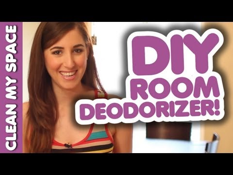 Melissa's DIY Room Deodorizer! Easy Home Cleaning Ideas That Save Money (Clean My Space)