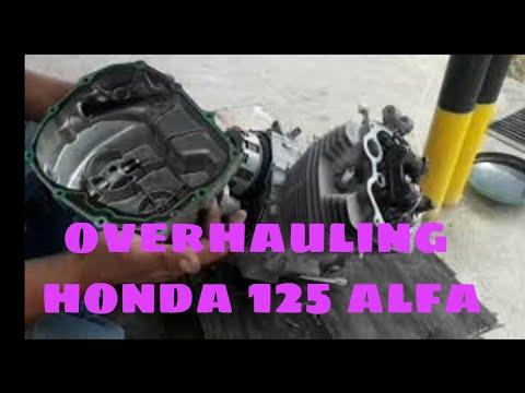 Honda tmx 125 overhauling mahugong na trassmision part 1