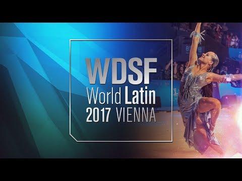 Bures - Iermolenko, CZE   2017 World Latin Vienna R1 R   DanceSport Total