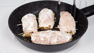 Куриное филе + квашеная капуста - 3 новые ЗАКУСКИ  Вы приготовите их еще НЕ РАЗ!