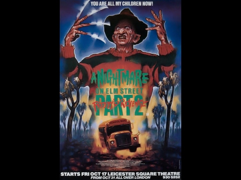 A Nightmare On Elm Street Part 2 Freddy's Revenge 1985 Film Clips Opening Freddy Bus Scene