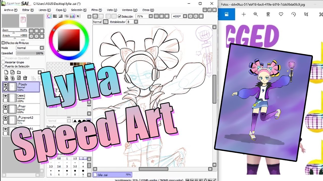 Lylia Future Star | Speed Art | Mobile Legends