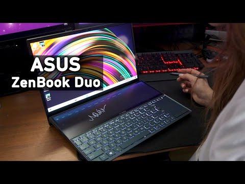 Ноутбук с 2 дисплеями - Asus Zenbook Duo UX481