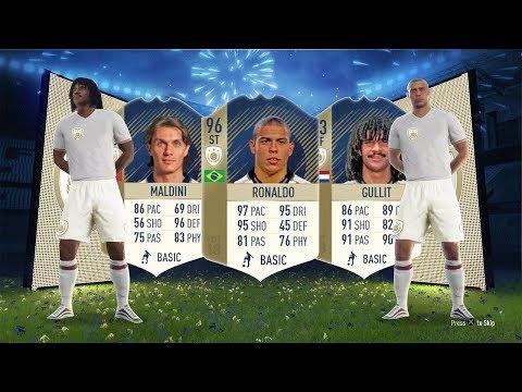 PRIME 96 RONALDO, PRIME 94 MALDINI, PRIME 93 GULLIT!!! - FIFA 18 Icon SBC's thumbnail