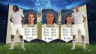 PRIME 96 RONALDO, PRIME 94 MALDINI, PRIME 93 GULLIT!!! - FIFA 18 Icon SBC's