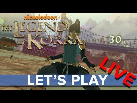 The Legend of Korra - Eurogamer Let's Play LIVE