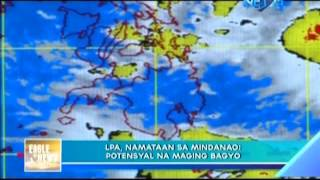 PAGASA monitors LPA in Philippine Area of Responsibility