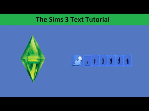 The Sims 3 Text Tutorial: Aging
