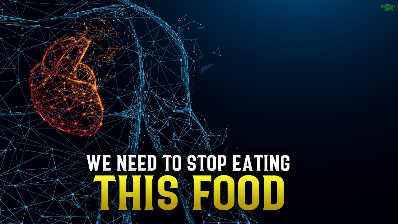 WE NEED TO STOP EATING THIS FOOD