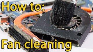 Як розібрати вентилятор і чистка ноутбука Toshiba супутника L850, L855