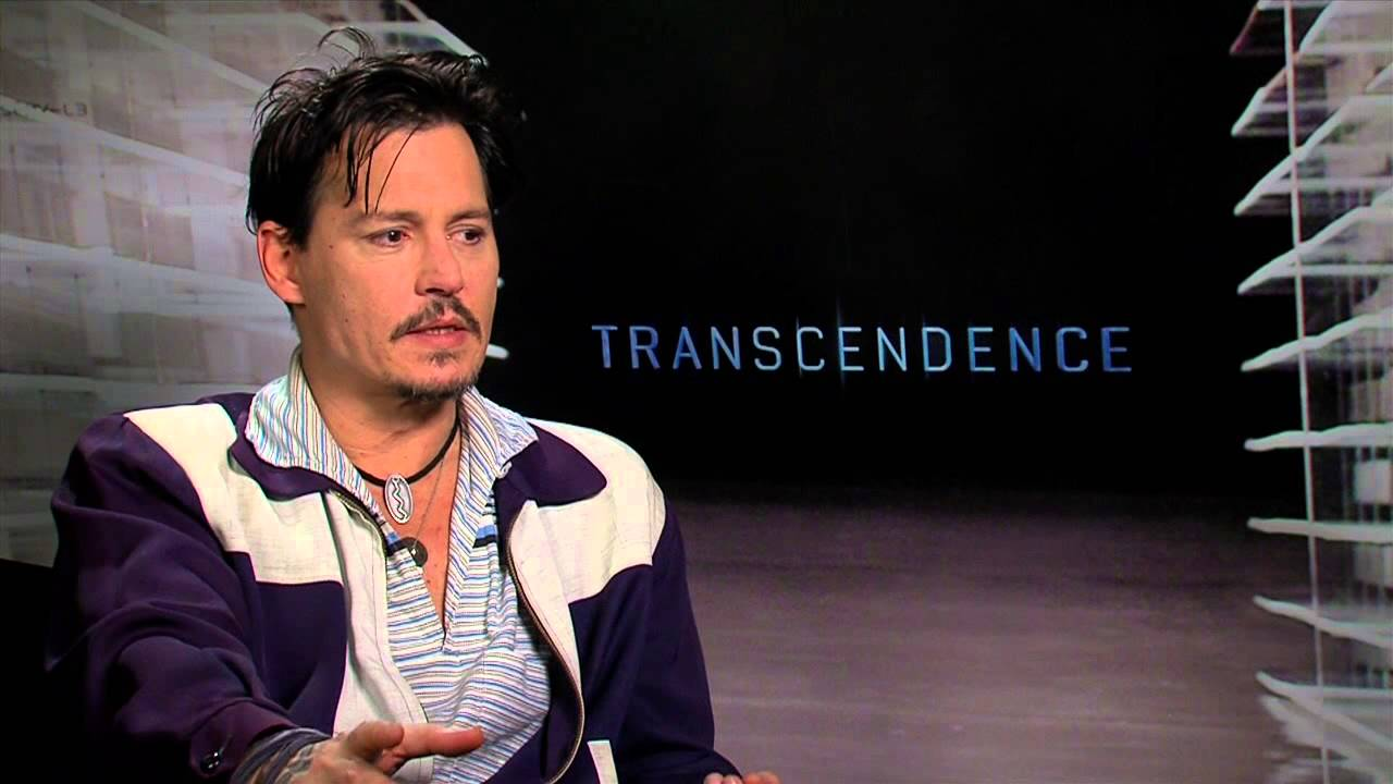 Transcendence: Johnny Depp Exclusive Movie Interview - YouTube