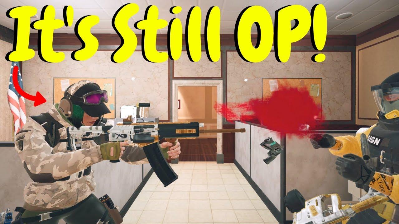 Ela Shotty is Still Overpowered in Rainbow Six Siege