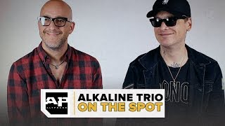 "Alkaline Trio on Losing Eyes, Messing with the Great Unknown and ""Is This Thing Cursed?"""