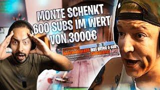 MONTANABLACK VERSCHENKT 600 SUBS IM WERT VON 3000€! 12H BEST OF | Amar