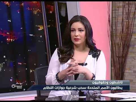 Ali Ibrahim, a Syrian political activist on the Orient channel _ علي ابراهيم