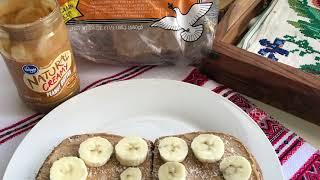 Бананово-ореховый сендвич / Banana-Nuts sandwich