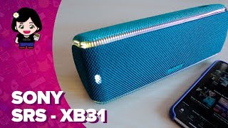 Sony SRS-XB31: ¡altavoz bluetooth con luces! | ChicaGeek