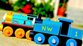 2015 Thomas Engine 70th Celebration Gift Pack Mattel Fisher Price Wooden Toy Train Review