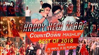 Happy New Year - Count Down - (Remix) - Mashup - Dj PaPuL & Dj PuPuN 2k18