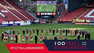 IFollow Rovers | The Last Post / moment of silence at Charlton Athletic