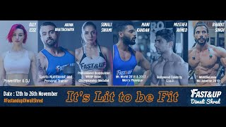 Fast&Up Diwali Shred 🔥 : Train WIth Elite Fitness Coaches.
