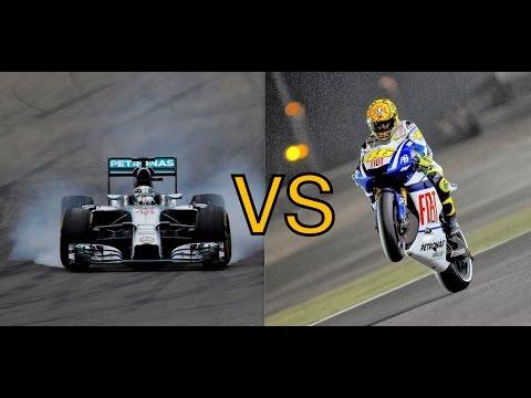 Formula 1 VS MotoGP кто быстрее?