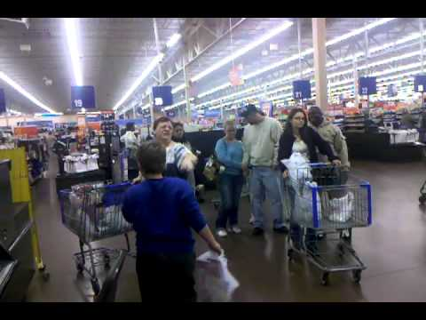 Walmart Customer Service Desk Excitement! - YouTube