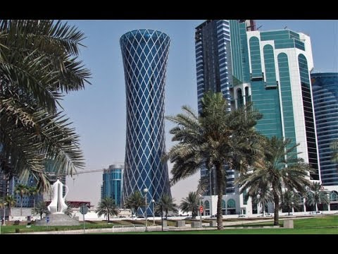 Tall buildings in Doha , Qatar