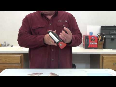 How to video by ultimate fishing gear for Skinzit fish skinner