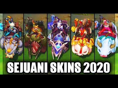 All Sejuani Skins Spotlight 2020 (League of Legends)